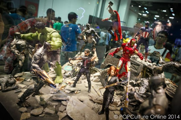 STGCC 2014 Hot Toys Marvel The Avengers