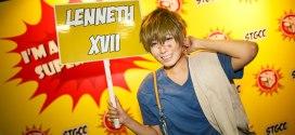 STGCC 2014 Lenneth XVII Fireman Makoto Cosplay