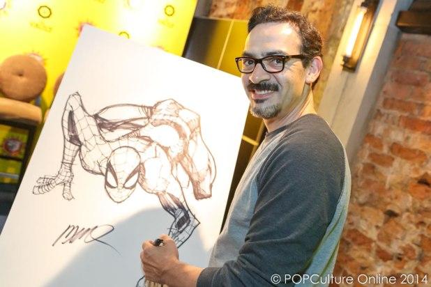 STGCC 2014 Media Preview Humberto Ramos Spider-Man