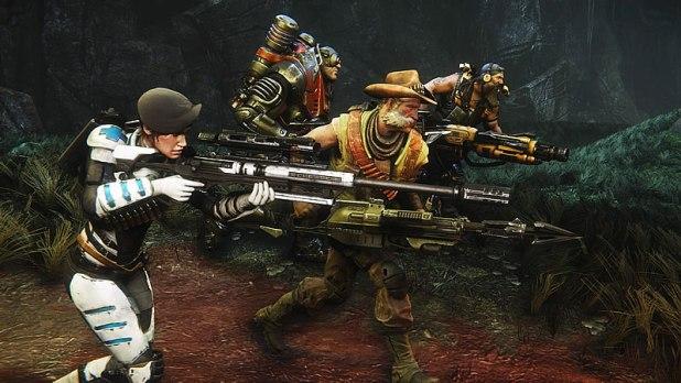 2K Games Evolve Hunters