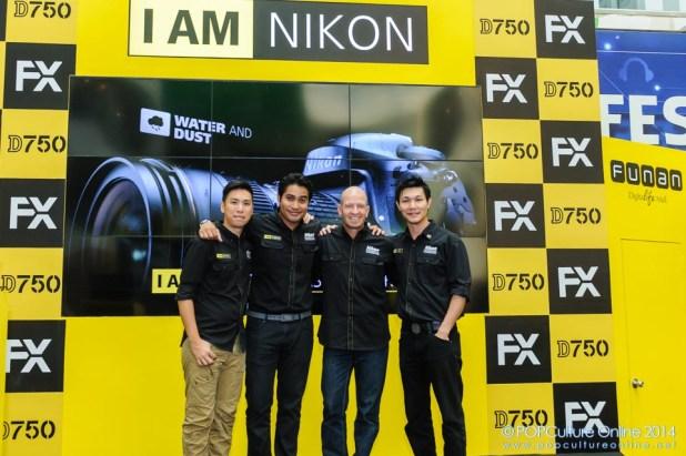 Nikon I Am Full Freedom Media Event Chris McLennan, Alex Soh, Bryan Foong and Imran Ahmad