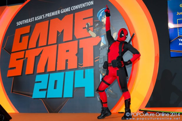GameStart 2014 Game On Cosplay Competition Best Stage Performance Deadpool