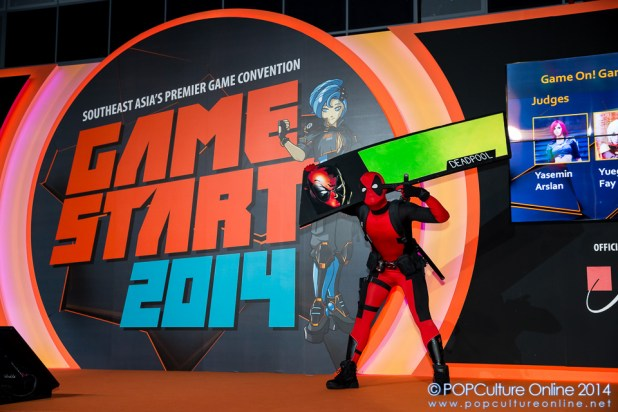 GameStart 2014 - Game On! Cosplay Competition Deadpool