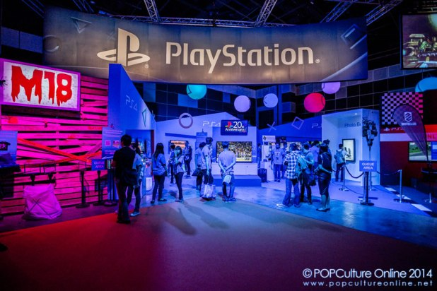 GameStart 2014 - Sony Playstation Booth