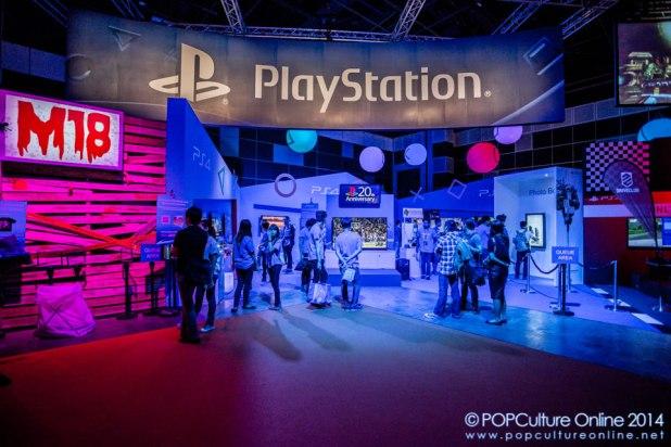 GameStart 2014 - Sony Playstation Booth