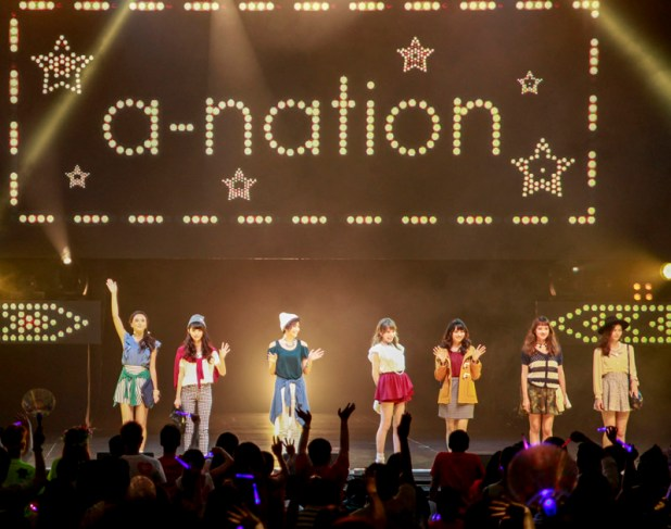 a-nation Singapore 2014 - GirlsAward LOWRYS FARM fashion show