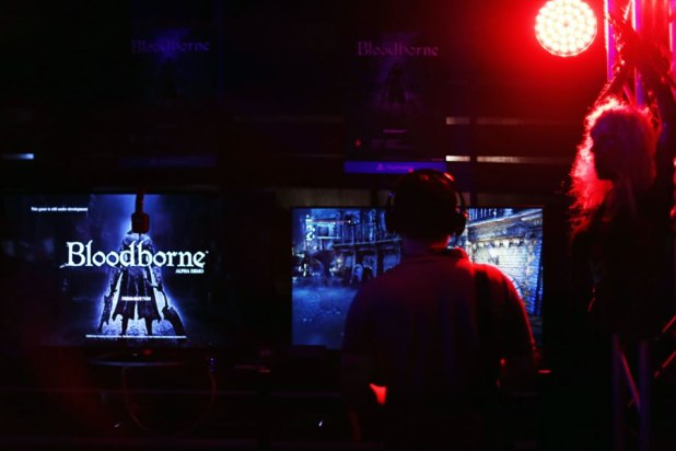 GameStart 2014 Sony Playstation Booth Bloodborne