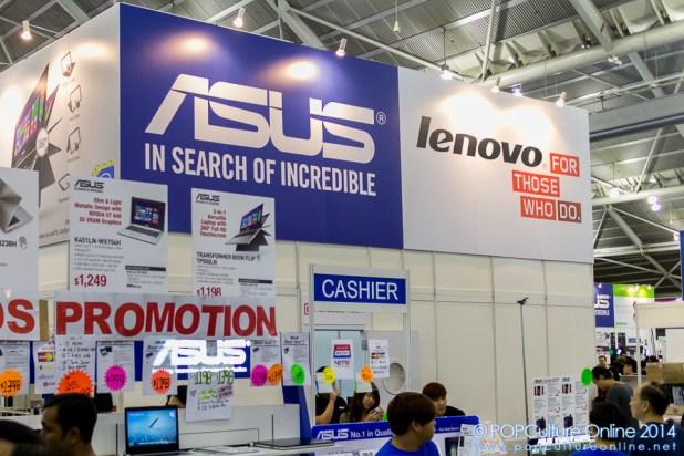 SITEX 2014 Asus Lenovo Laptops
