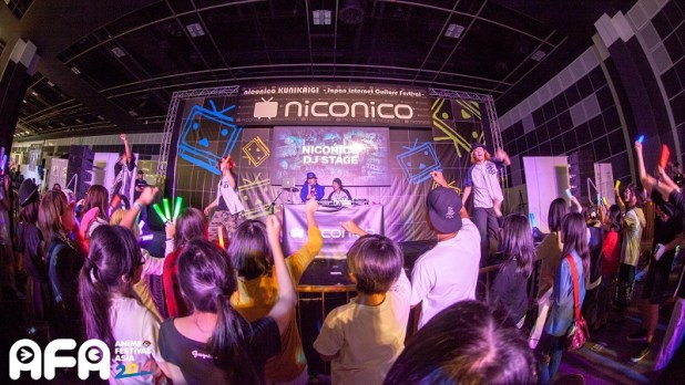 AFA14-niconico DJ stage-w