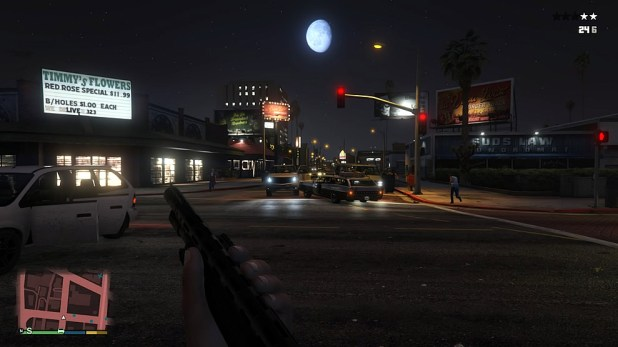 Grand Theft Auto PS4 Play Through Screen Shot 03