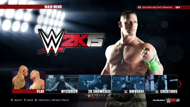 WWE 2K15 Review Screen Shot 01