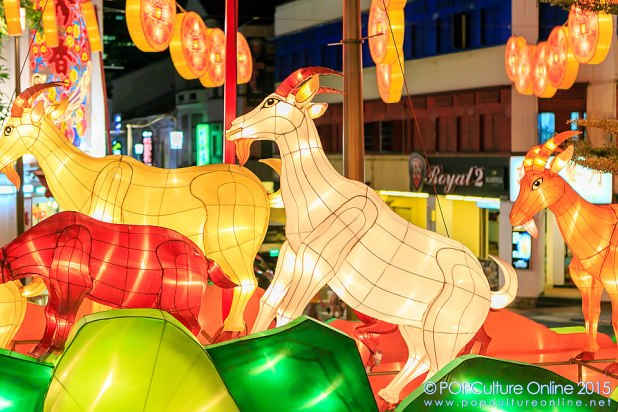 Chinatown Chinese New Year Light Up 2015