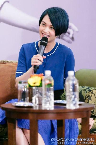 Rainie Yang 杨丞琳 Singapore Press Conference 02