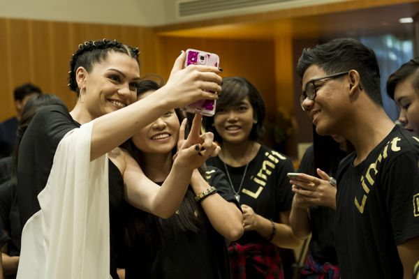 Sands for SIngapore CSR Meet and Greet with Jessie J 070315-6