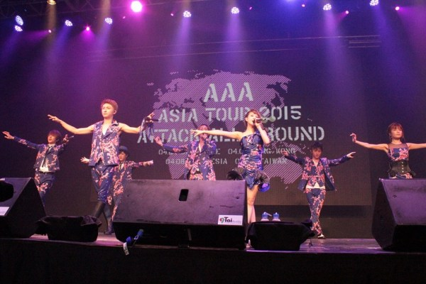 Attack All Around AAA Taiwan Concert Group (1)