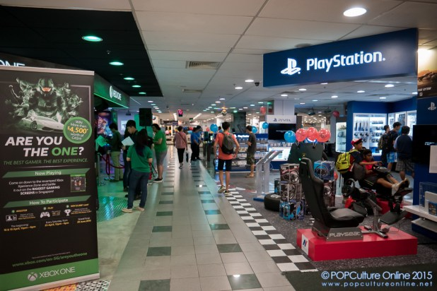 Game On With Challenger Xbox Xperience Zone Sony Playstation