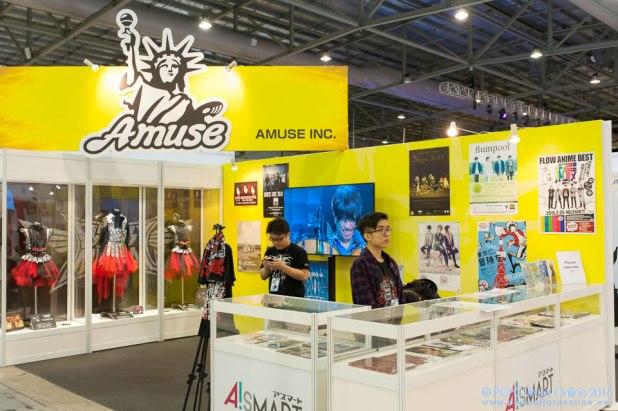 CharaExpo 2015 AMUSE Inc Booth