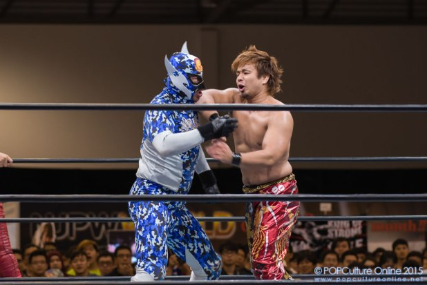 CharaExpo 2015 New Japan Pro-Wrestling
