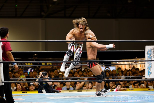 CharaExpo 2015 New Japan Pro Wrestling