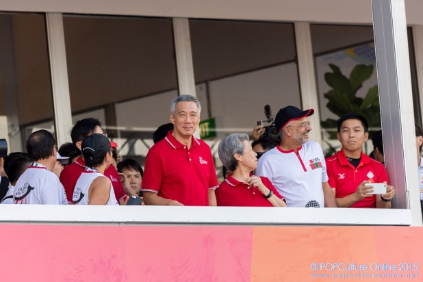 SEA Games 2015 500m Traditional Boat Race PM Lee