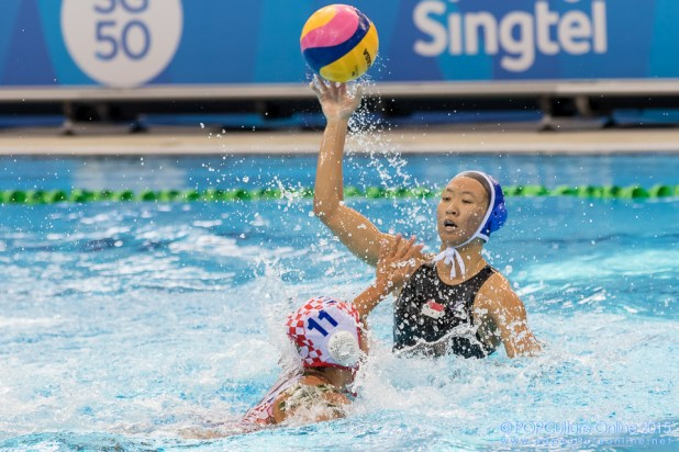 SEA Games 2015 Aquatics-Water Polo Round Robin Match 1 Indonesia vs Singapore (4)