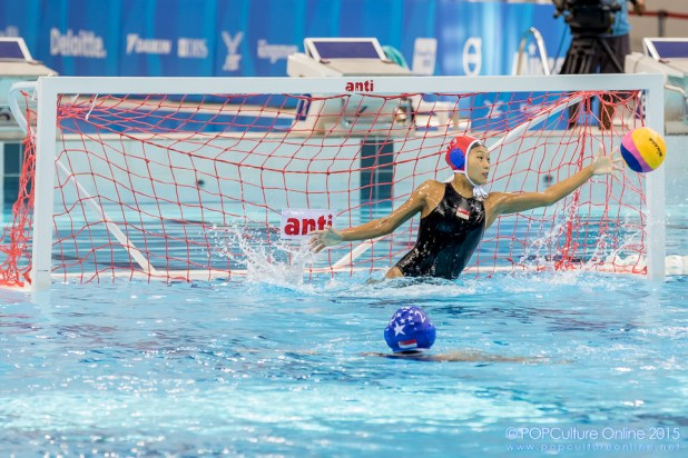 SEA Games 2015 Aquatics-Water Polo Round Robin Match 1 Indonesia vs Singapore (6)