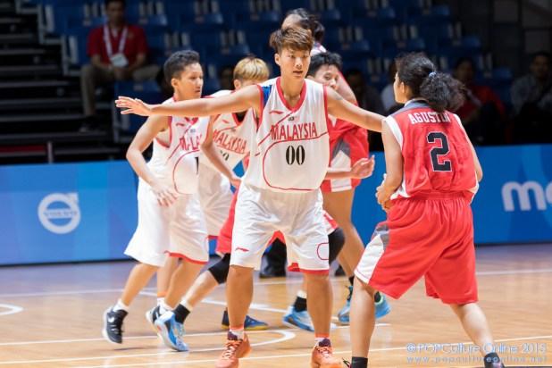 SEA Games 2015 OCBC Arena Hall 1 Malaysia Pang Hui Min