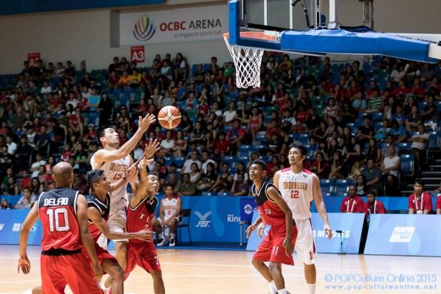 SEA Games 2015 OCBC Arena Hall 1 Men Indonesia vs Timor-Leste