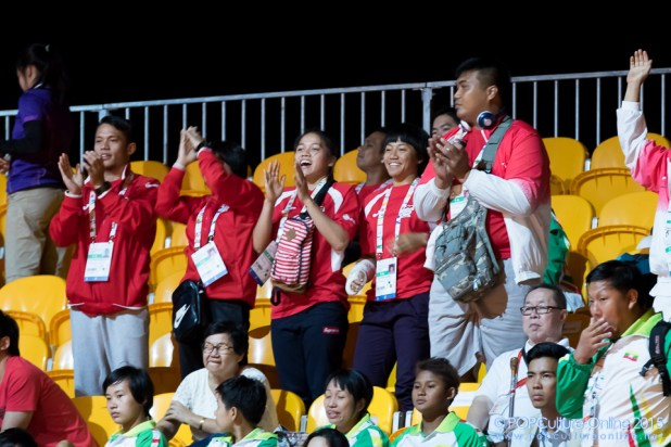 SEA Games 2015 Singapore Expo Supporting Fans (1)