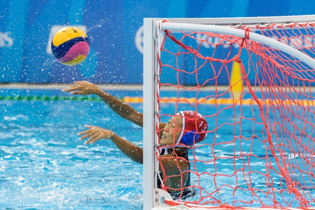 SEA Games 2015 Women Water Polo Final Thailand Singapore OCBC Aquatic Centre Eunice Fu