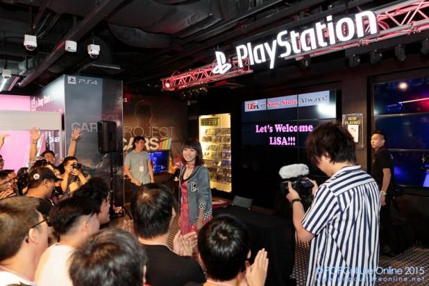 LiSA in Sony Store Always (1)