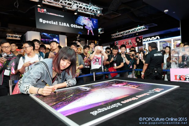 LiSA in Sony Store Always (11)