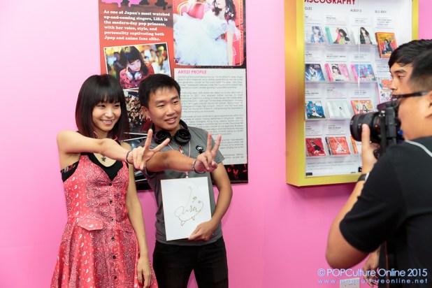LiSA in Sony Store Always (9)
