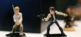 Disney Infinity 3.0 Star Wars Luke Skywalker Han Solo