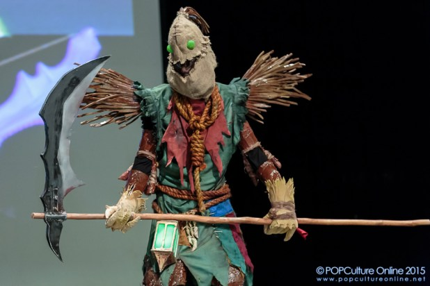 ICDS 2015 Cosplay Talent League of Legends Fiddlesticks