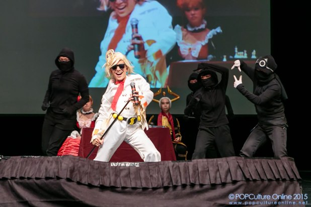 ICDS 2015 Singapore Annual Cosplay Chess Performance Ringabel Stage Ninjas