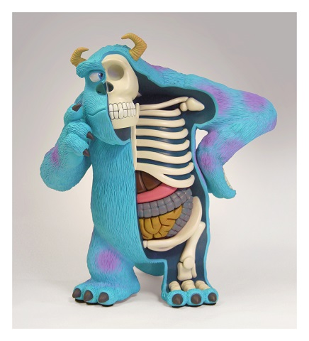 STGCC 2015 Jason Freeny Dissected Monster Inc Sulley