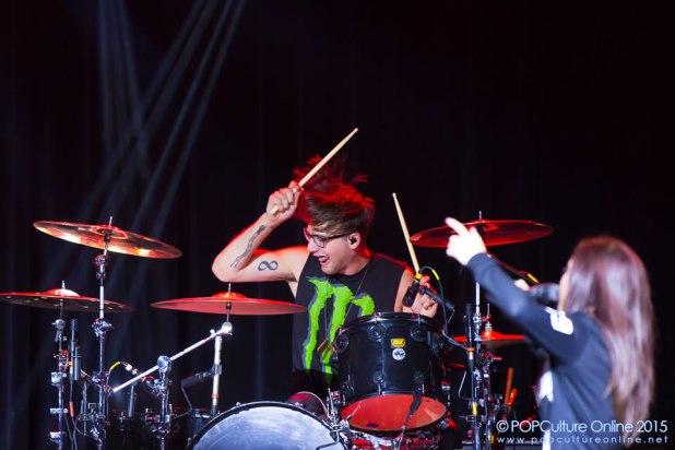 Against The Current Gravity World Tour Singapore 2015 Concert Will Ferri