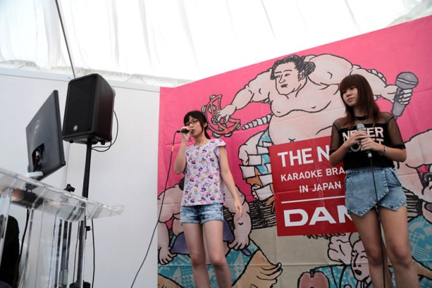 MOSHI MOSHI NIPPON FESTIVAL 2015 in Singapore  - LIVE DAM booth
