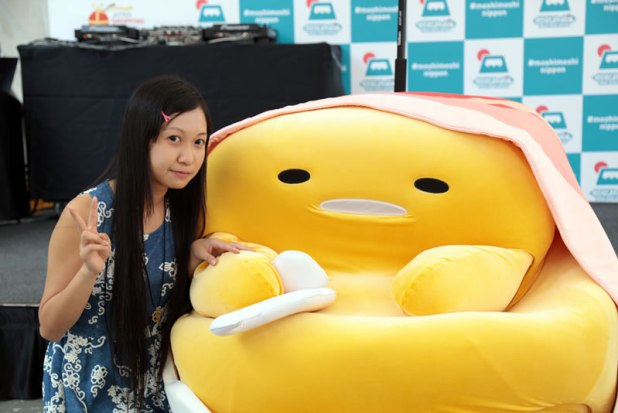 MOSHI MOSHI NIPPON FESTIVAL 2015 in Singapore - Sanrio Gudetama - web