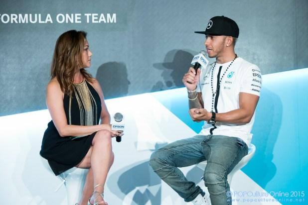 Mercedes AMG Petronas Formula One™ Team driver Lewis Hamliton