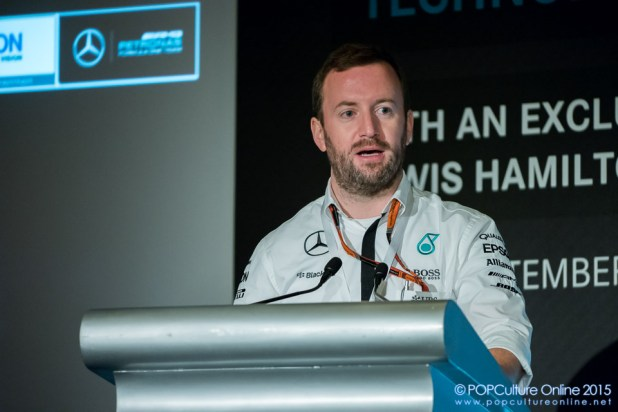Mr Bradly Lord Head of Communications Mercedes AMG Petronas Formula One™ Team