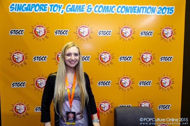 STGCC 2015 Agnes Garbowska Interview