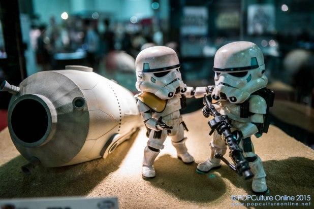 STGCC 2015 Beast Kingdom Egg Attack Stormtroopers