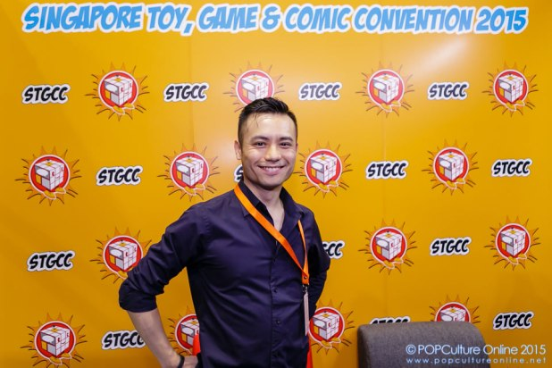 STGCC 2015 Interview Geekdom Jim Cheung