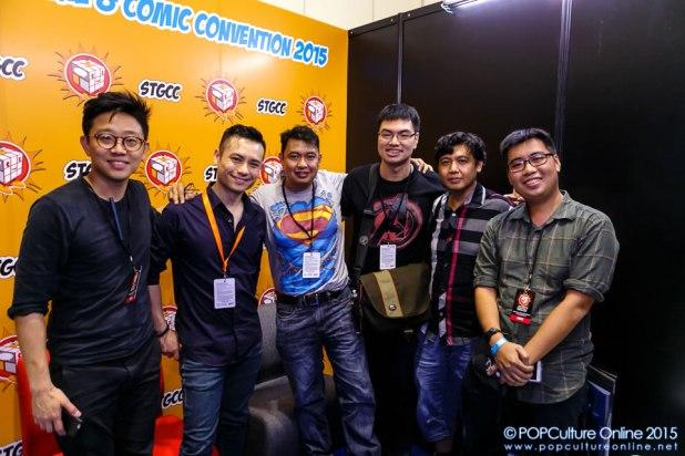 STGCC 2015 Jim Cheung Interview Group Shot