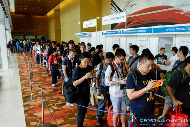 STGCC 2015 MBS Queue To Go In