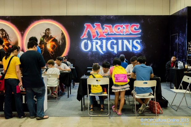 STGCC 2015 Magic the Gathering Booth 03
