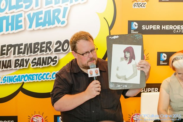 STGCC 2015 Media Preview Adam Huges Live Drawing