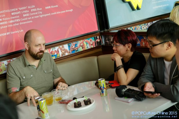 STGCC 2015 Media Preview Huck Gee Interview